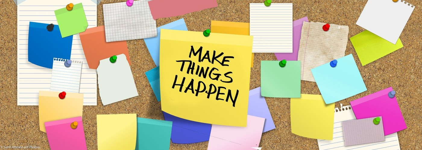 Post-its: Make things happen